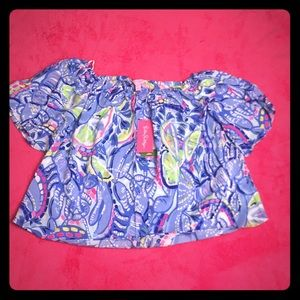 Lilly Pulitzer Sain top blouse